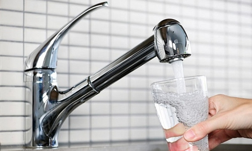 Чистая вода из-под крана