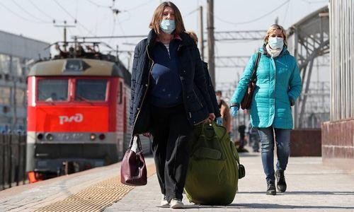 коронавирус поезд поездка
